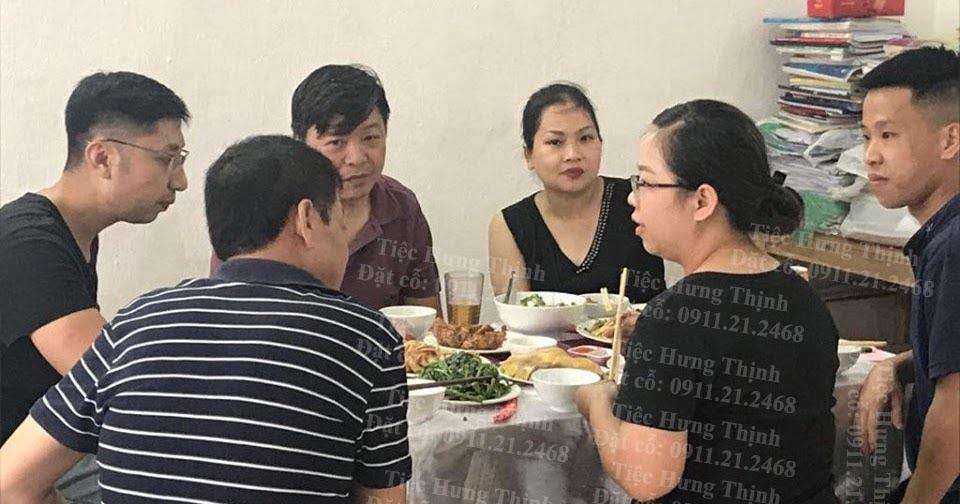 Nấu cỗ ở doãn kế thiện - tiệc tại nhà chị Mai