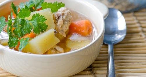 Cách làm món canh gà khoai lang thơm ngon