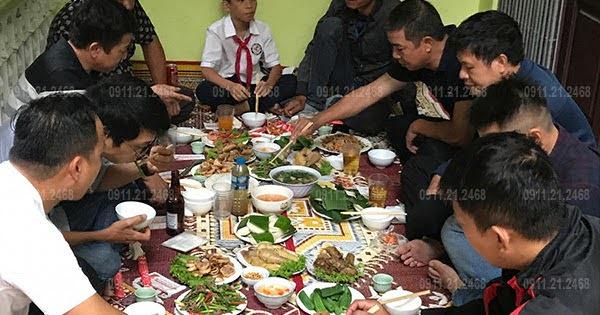 Đặt Cỗ Giỗ Ở Quân Nhân 5 Mâm Nhà Chị Thuận