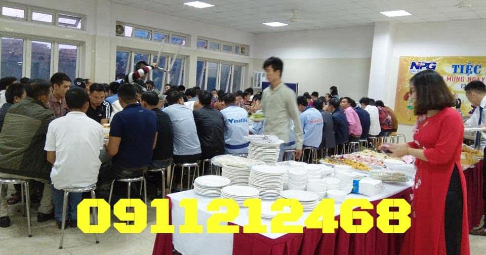 Đặt tiệc buffet ở Hưng Yên- nấu tiệc buffet tại công ty NPG