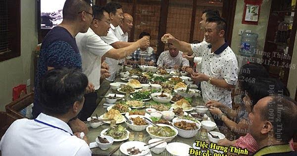 Đặt Tiệc Gà Đông Tảo Đủ Món Ở Cầu Giấy Nhà Chị Phương 3 Mâm