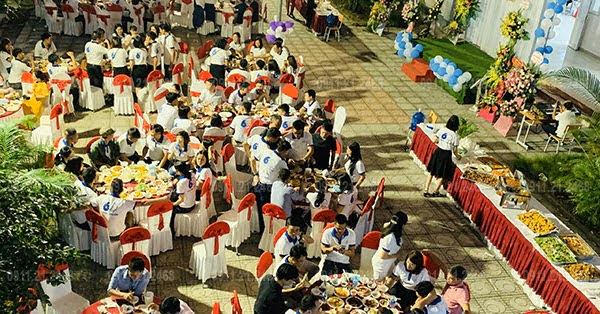 Dịch vụ đặt tiệc buffet trường học 0911212468