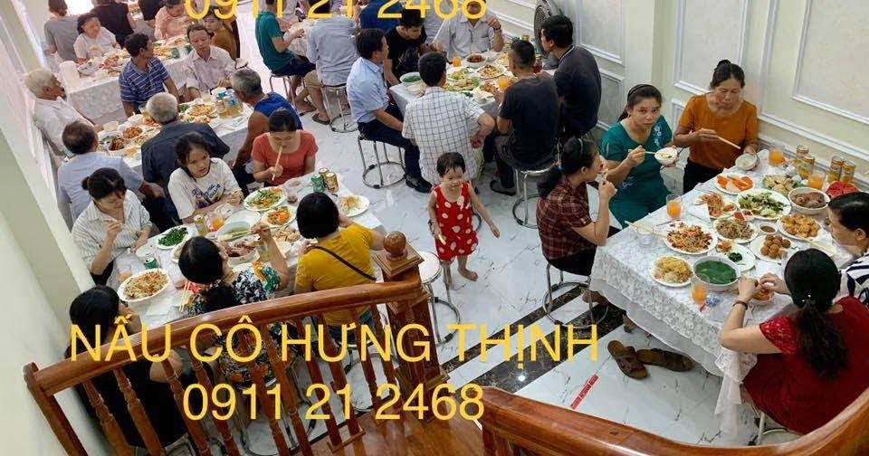 Dịch vụ nấu cỗ ở đội cấn 0936535389