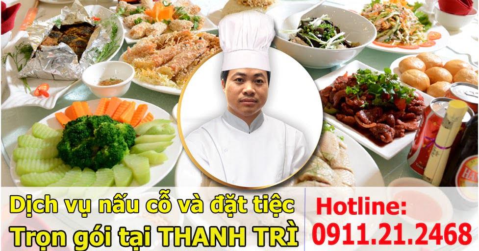 Dịch vụ nấu cỗ ở triều khúc 0936535389