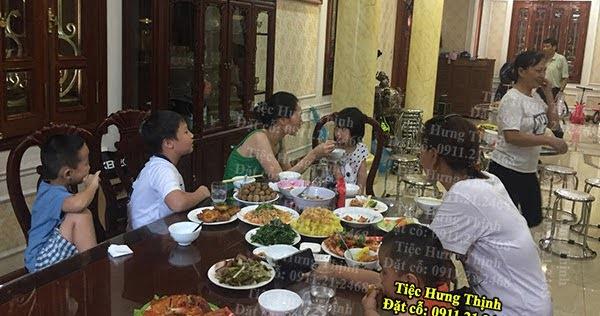 Nấu Cỗ Giỗ Ở Khu Đô Thị Việt Hưng 3 Mâm Nhà Chị Thu