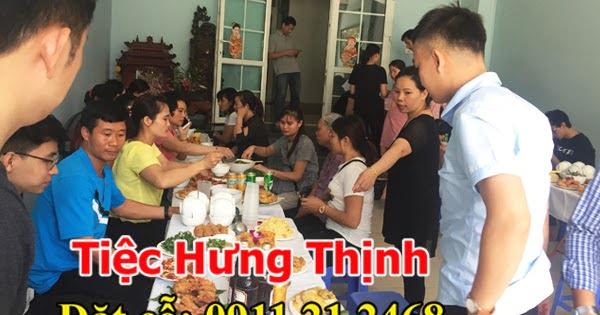 Nấu cỗ giỗ tại nhà ở Kim Giang 8 mâm