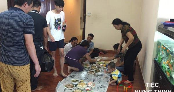 Nấu cỗ giỗ tại nhà ở Trung Hòa Nhân Chính 4 mâm