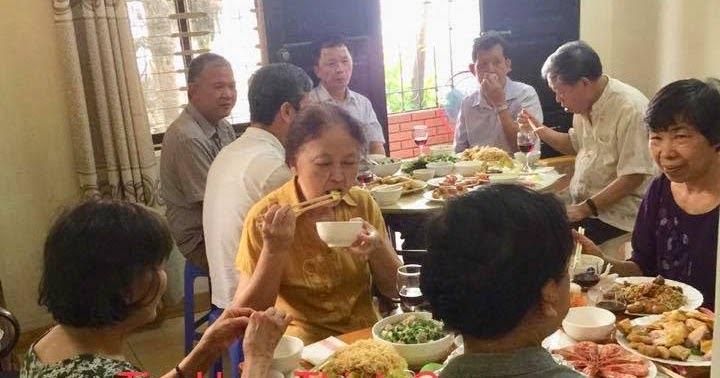 Nấu cỗ ở Đại An hà đông tiệc tại nhà chị Linh