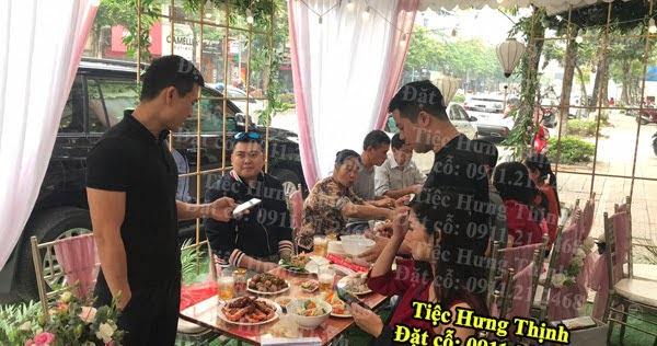 Nấu cỗ ở Nguyễn Văn Cừ, Long Biên - phục vụ tại nhà chị Giang