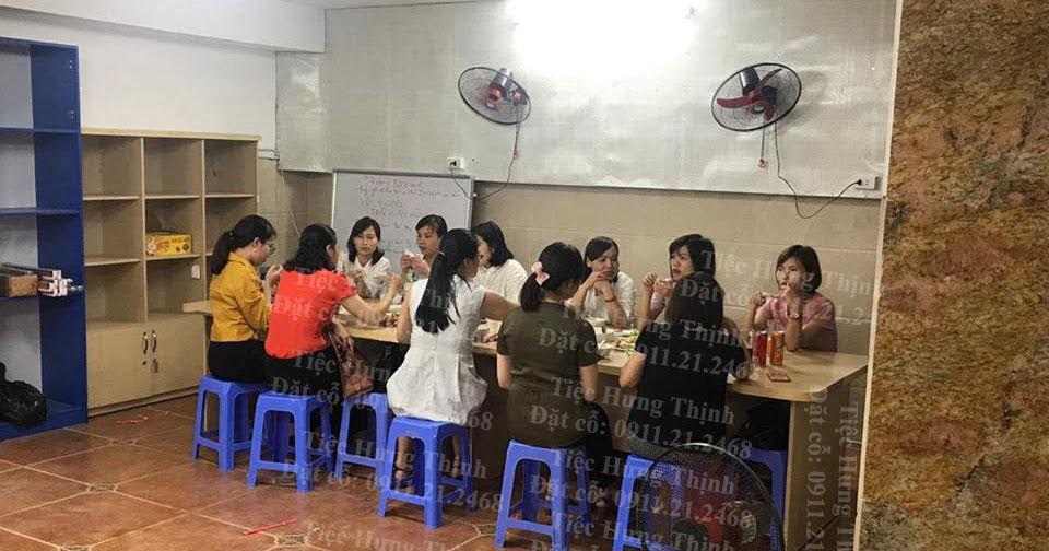 nấu cỗ ở phương liệt thanh xuân tiệc liên hoan nhà chị Dung 0936535389