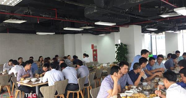 Nấu cỗ ở Trung Hoà Nhân Chính Cầu Giấy 10 mâm