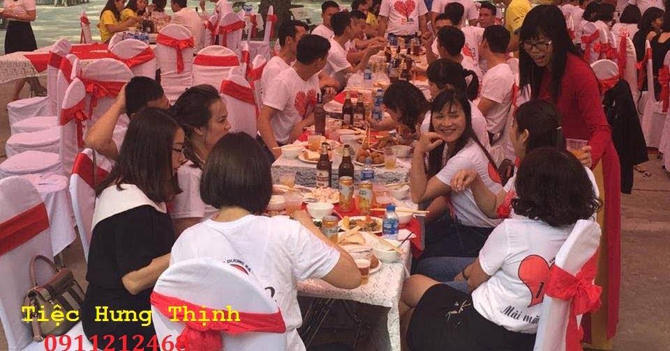 Nấu tiệc buffet tại trường THPT Dương Xá Gia Lâm