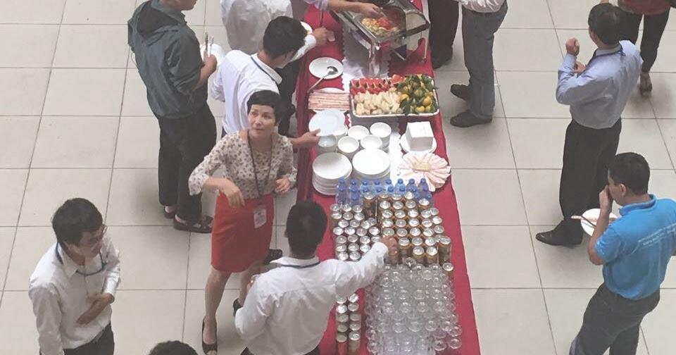 Tiệc buffet ở Ngọc Hồi Thanh Trì 180 khách