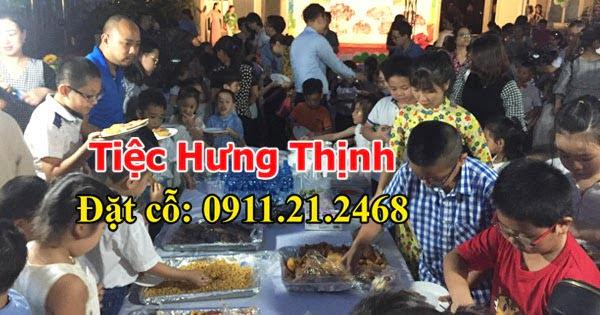 Tiệc buffet tại Cầu Giấy trường Mầm Non Lý Thái Tổ 200 khách