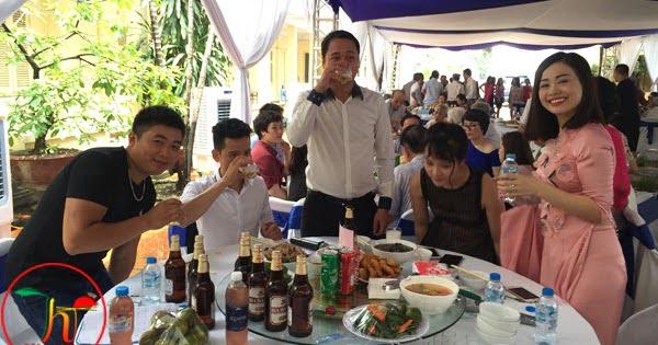 Tiệc liên hoan 18 mâm ở Giải Phóng Hà Nội