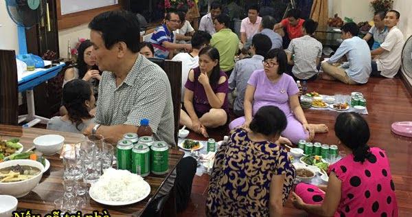 Tiệc thôi nôi 7 mâm tại khu đô thị Văn Phú Hà Đông