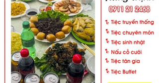 Dịch vụ nấu cỗ cưới thuê giá rẻ hà nội 0911212468