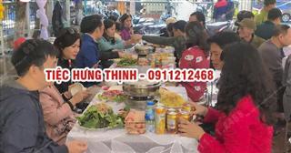 Dịch vụ nấu cỗ ở trần cung từ liêm 0936535389