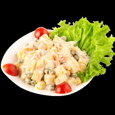 Cách Làm Món Salad Nga Giảm Béo Cho Bữa Tối
