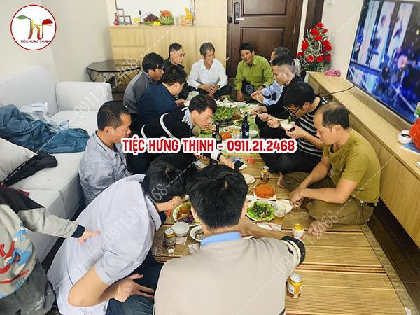 Nấu Cỗ Tại Chung Cư Homeland Long Biên 0911212468