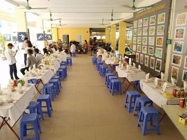 Đặt Tiệc Liên Hoan Cuối Năm Cho Trường Học Ở Hà Nội 0911212468
