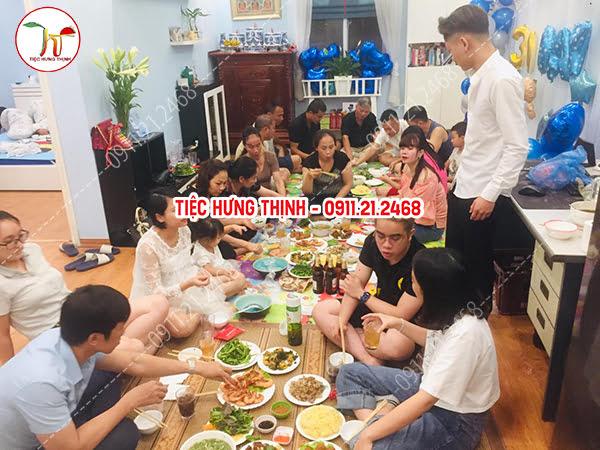 Đặt tiệc sinh nhật tại nhà ở Tân Mai Hoàng Mai 0911212468