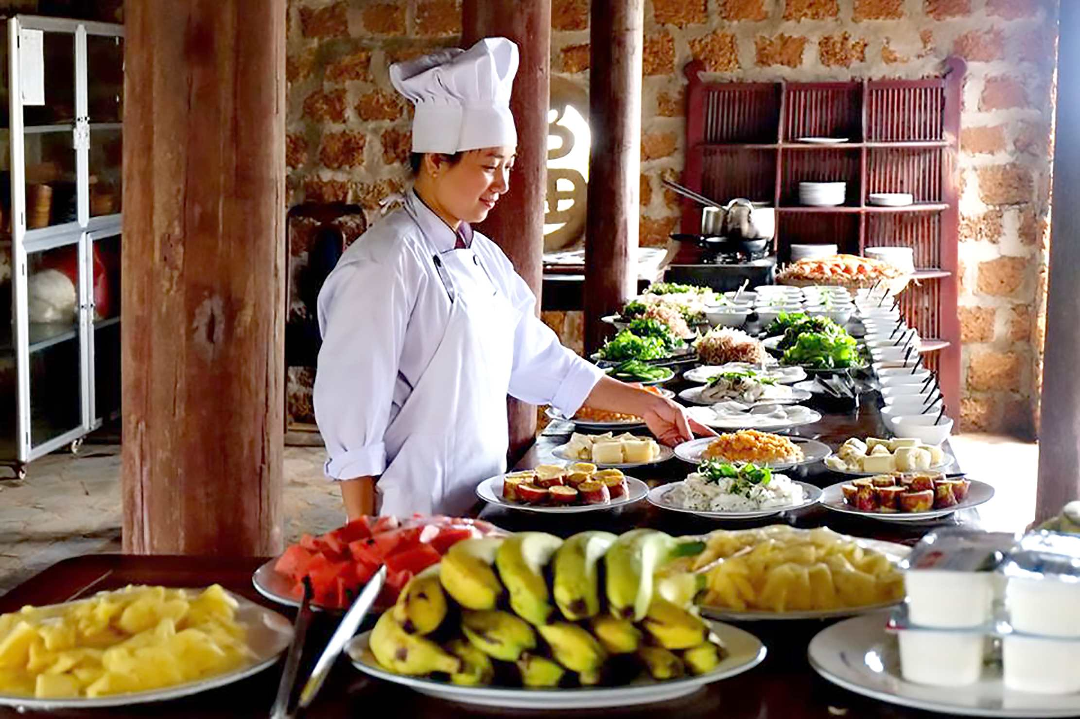 Đặt tiệc buffet tại long biên 0911212468