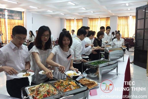 Đặt tiệc buffet tại nhà hà đông 0911212468