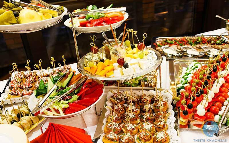 Đặt tiệc buffet tại hoàng mai 0936535389