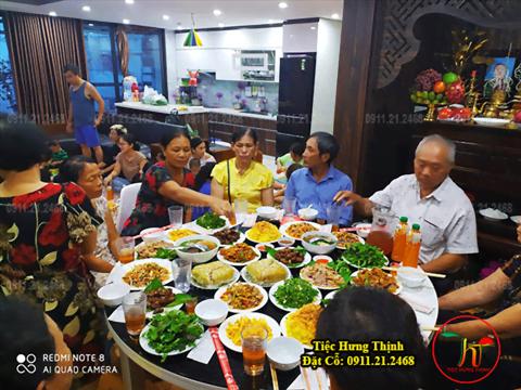 Dịch Vụ Nấu Cỗ ở Khương Mai Thanh Xuân 5 mâm
