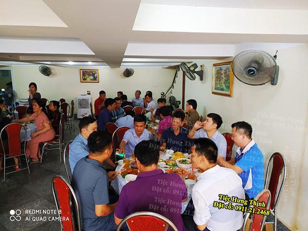 Nấu Cỗ ở Nguyễn Khang Nhà Chú Đông 6 Mâm