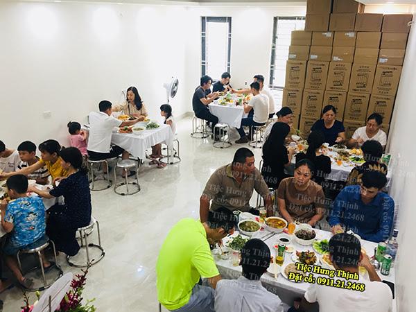 Đặt Tiệc Tân Gia 12 Mâm ở Khu Đô Thị Dương Nội
