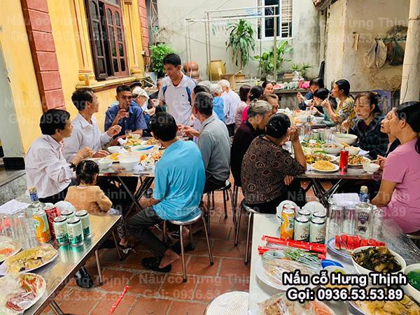 Dịch Vụ Nấu Cỗ ở Đông Ngạc Làm 7 Mâm Cỗ Nhà Cho Nhà Chú Thắng