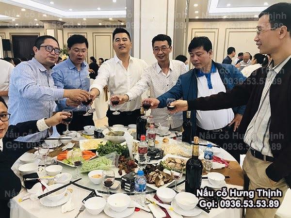 Nấu Cỗ Lợn Mán ở Hà Nội 10 Mâm Liên Hoan