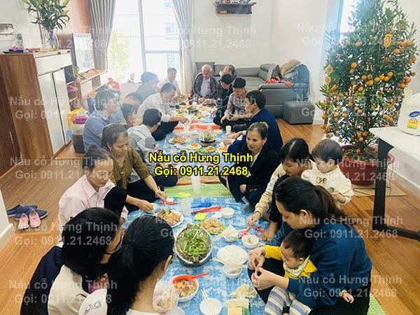 Đặt cỗ tại nhà ở Khâm Thiên 0911212468
