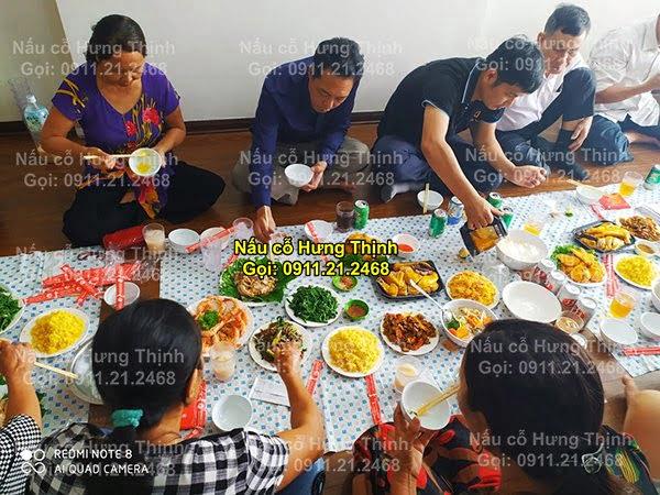 Đặt cỗ tại nhà ở Láng Hạ 0911212468