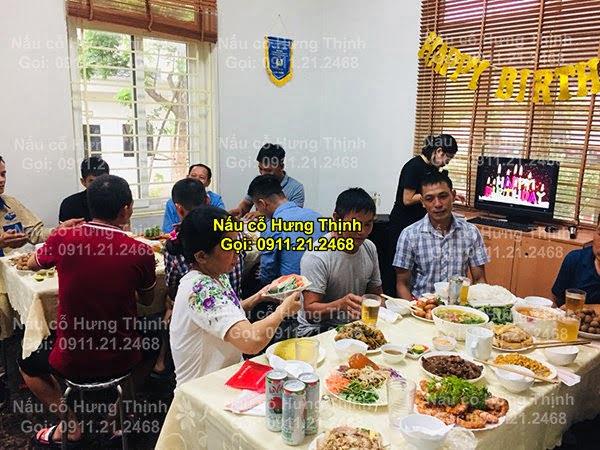Đặt cỗ tại nhà ở Cát Linh 0911212468