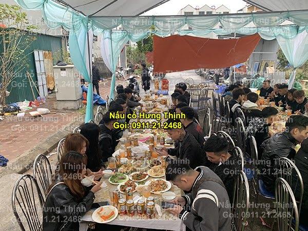 Đặt cỗ tại nhà ở Ngọc Lâm 0911212468