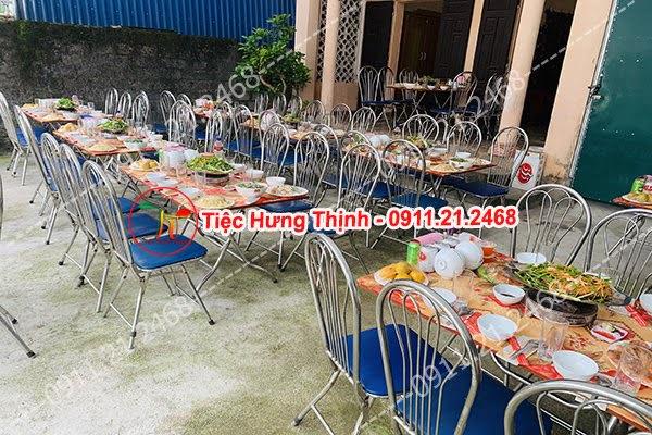 Đặt cỗ tại nhà ở Hạ Đình 0911212468