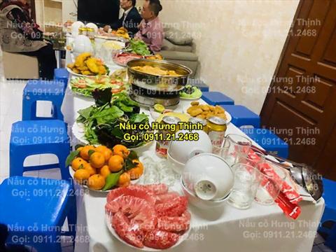 Đặt cỗ tại nhà ở Điện Biên 0911212468