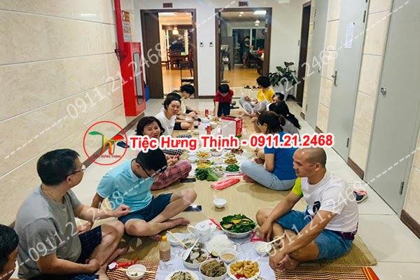 Dịch vụ nấu cỗ tại nhà ở Hoàng Sâm 0911212468