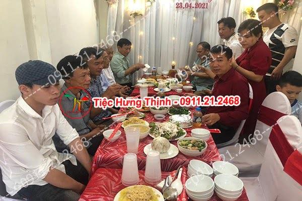 Đặt cỗ tại nhà ở Kim Lan 0911212468