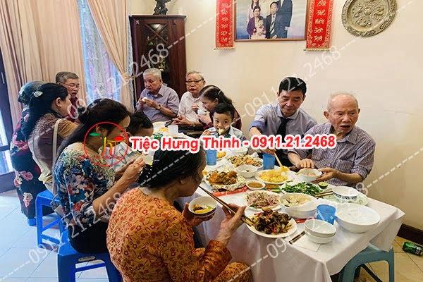 Nấu cỗ tại nhà ở Cát Linh 0911212468