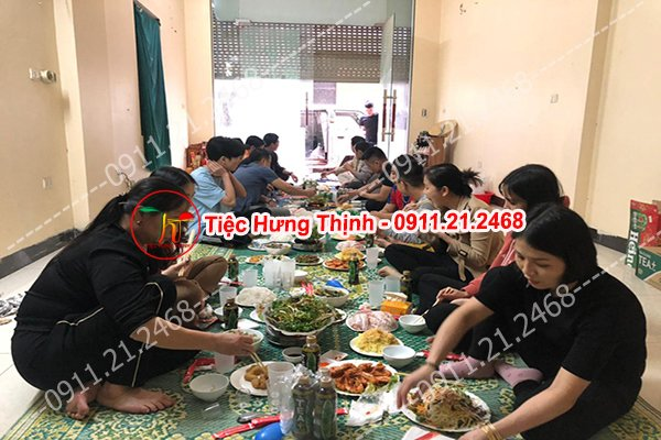 Đặt cỗ tại nhà ở Hoàng Tích Trí 0936535389