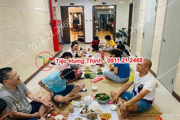 Nấu cỗ tại nhà ở Mạc Đĩnh Chi 0936535389